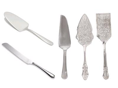 Rent Utensils - Cake Knives & Servers